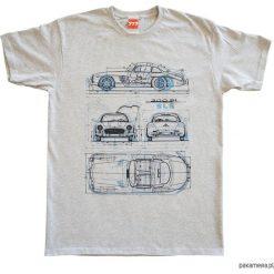 T-shirty męskie z nadrukiem: Koszulka MERCEDES GULLWING