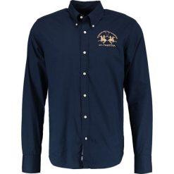 La Martina STRETCH REGULAR FIT Koszula navy. Niebieskie koszule męskie na spinki La Martina, l, z bawełny. Za 459,00 zł.