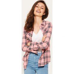 Koszula w kratę - Różowy. Czarne koszule damskie marki KIPSTA, z poliesteru, do piłki nożnej. Za 39,99 zł.