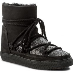 Buty zimowe damskie: Buty INUIKII – Sneaker Wedge Sequin 30110 Black