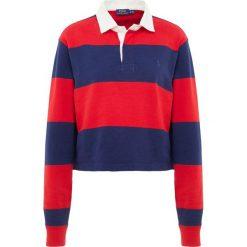 Bluzki asymetryczne: Polo Ralph Lauren LOOSE UNEVEN Koszulka polo red/french