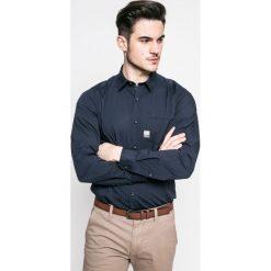 S. Oliver - Koszula. Szare koszule męskie na spinki S.Oliver, l, z bawełny, z klasycznym kołnierzykiem, z długim rękawem. W wyprzedaży za 99,90 zł.