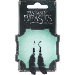 Fantastic Beasts Feder Kolczyki czarny. Czarne kolczyki damskie Fantastic Beasts. Za 42,90 zł.