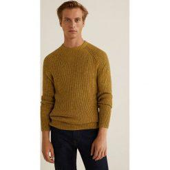 Mango Man - Sweter Folly. Brązowe swetry klasyczne męskie marki LIGNE VERNEY CARRON, m, z bawełny. Za 199,90 zł.