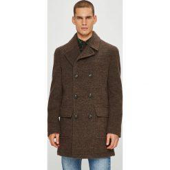 Pierre Cardin - Płaszcz. Brązowe płaszcze na zamek męskie Pierre Cardin, z poliesteru, klasyczne. W wyprzedaży za 869,90 zł.