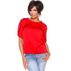 """T-shirty damskie: Koszulka """"Aline"""" w kolorze czerwonym"""