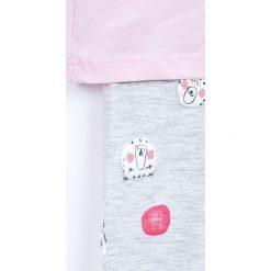 Spodnie dresowe dziewczęce: Blukids – Komplet dziecięcy 68-98 cm