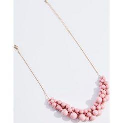Naszyjniki damskie: Zdobiony naszyjnik – Różowy