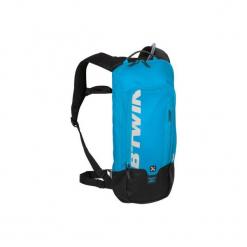 Plecak rowerowy z bukłakiem MTB 520. Czerwone plecaki męskie marki ROCKRIDER, z materiału, sportowe. Za 99,99 zł.