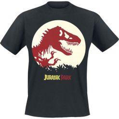 T-shirty męskie: Jurassic Park T-Rex Spotted T-Shirt czarny