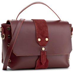 Torebka CREOLE - K10426 Bordowy. Czerwone torebki klasyczne damskie Creole, ze skóry, duże. W wyprzedaży za 229,00 zł.