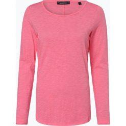 Marc O'Polo - Damska koszulka z długim rękawem, różowy. Szare t-shirty damskie marki U.S. Polo, l, z aplikacjami, z dzianiny, z okrągłym kołnierzem. Za 179,95 zł.