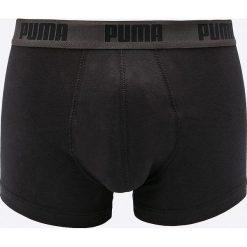 Puma - Bokserki (2-pack). Czarne bokserki męskie Puma, z bawełny. W wyprzedaży za 59,90 zł.