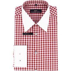 Koszula ARMANDO slim 14-02-55. Białe koszule męskie jeansowe marki Giacomo Conti, m, z klasycznym kołnierzykiem, z długim rękawem. Za 149,00 zł.