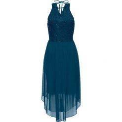 Sukienki: Sukienka wieczorowa bonprix zielony