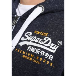 Superdry PREMIUM GOODS ZIPHOOD Bluza rozpinana atlantic navy grit. Pomarańczowe bluzy męskie rozpinane marki Superdry, l, z bawełny, z kapturem. Za 389,00 zł.