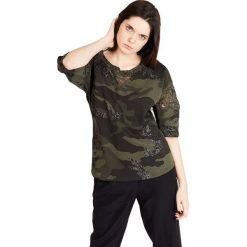 Bluzki damskie: Bluzka w kolorze khaki