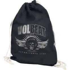 Volbeat Dark Skullwing Torba treningowa czarny. Czarne torebki klasyczne damskie Volbeat. Za 54,90 zł.