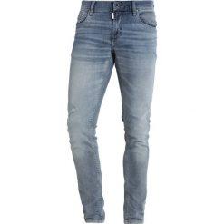 Antony Morato SUPER DON GIOVANNI  Jeans Skinny Fit blu denim. Niebieskie rurki męskie marki Tiffosi. Za 379,00 zł.