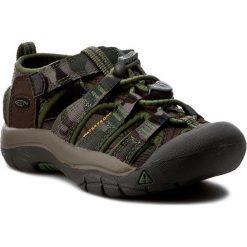 Sandały KEEN - Newport H2 1016590 Cascade Brown Kamo. Zielone sandały chłopięce marki Keen, z gumy. W wyprzedaży za 179,00 zł.