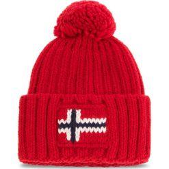 Czapka NAPAPIJRI - Semiury 1 N0YGSE Pop Red R41. Szare czapki zimowe damskie marki Napapijri, z dzianiny. W wyprzedaży za 139,00 zł.