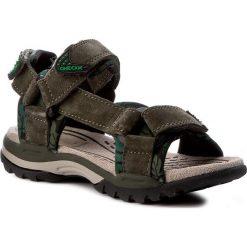 Sandały męskie: Sandały GEOX - J Borealis B. E J720RE 02215 C3009 Military
