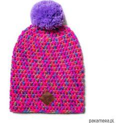 Czapki męskie: czapka dziana KRAFF PINK FUN handmade
