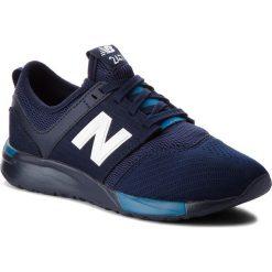 Trampki chłopięce: Sneakersy NEW BALANCE – KL247C2G  Granatowy