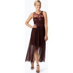 VM - Damska sukienka wieczorowa, czerwony. Czerwone sukienki hiszpanki VM, z tiulu, wizytowe. Za 899,95 zł.