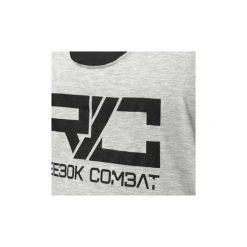 T-shirty i Koszulki polo Reebok Sport  Koszulka bez rękawów Combat Tri Blend. Szare bluzki sportowe damskie Reebok Sport. Za 90,30 zł.