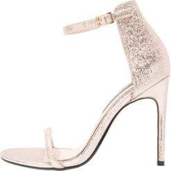 Sandały damskie: Miss Selfridge CHESSI Sandały na obcasie metallic