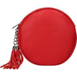 """Puzderka: Skórzana kopertówka """"St. Benoit"""" w kolorze czerwonym – 19,5 x 19 x 7 cm"""