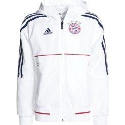 Adidas Performance FC BAYERN MÜNCHEN Artykuły klubowe white/conavy. Białe kurtki dziewczęce marki 4F JUNIOR, na lato, z materiału. Za 299,00 zł.