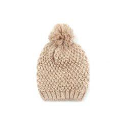 Czapka damska Pani zima beżowa. Brązowe czapki zimowe damskie Art of Polo, na zimę. Za 28,94 zł.
