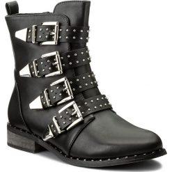 Botki JENNY FAIRY - WS16035-11 Czarny. Czarne buty zimowe damskie Jenny Fairy, ze skóry ekologicznej. Za 149,99 zł.