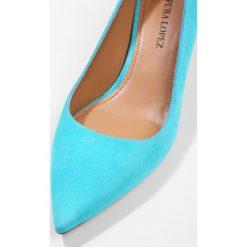 Buty ślubne damskie: Pura Lopez Czółenka turquoise