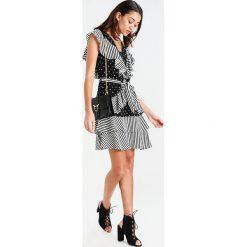 Sukienki hiszpanki: YAS YASDOT FLOUNCE DRESS Sukienka letnia black