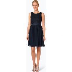 Sukienki: Marie Lund – Elegancka sukienka damska, niebieski