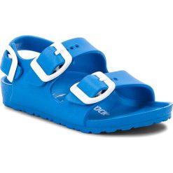 Sandały BIRKENSTOCK - Milano 1009355  Scuba Blue. Niebieskie sandały chłopięce marki Birkenstock, z tworzywa sztucznego. Za 89,00 zł.