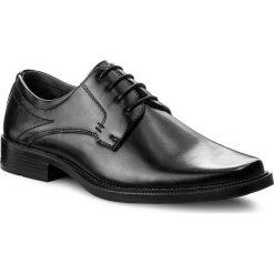 Półbuty OTTIMO - M17SS8148-1 Czarny. Czarne buty wizytowe męskie Ottimo, z materiału. Za 99,99 zł.