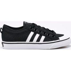 Adidas Originals - Buty Nizza. Szare buty sportowe damskie adidas Originals, z materiału. W wyprzedaży za 249,90 zł.