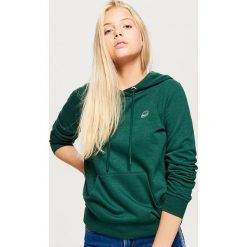 Bluza hoodie - Khaki. Brązowe bluzy damskie marki Cropp, l. Za 69,99 zł.