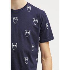 T-shirty męskie z nadrukiem: Knowledge Cotton Apparel Tshirt z nadrukiem navy