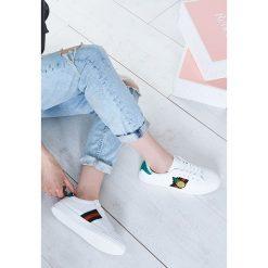 Buty sportowe damskie: Białe Buty Sportowe Pineapple Juice