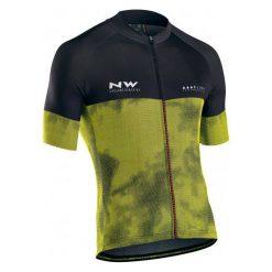 Northwave Męska Koszulka Rowerowa blade3 Jrs S/S Yellow Fluo/Black M. Czarne odzież rowerowa męska Northwave, m. Za 299,00 zł.