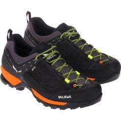 Buty trekkingowe męskie: Salewa Buty męskie MS Mountain Trainer GTX Black Out/Holland r.  45 (63467-8668)