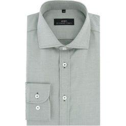 Koszula RICCARDO 16-04-03-K. Czarne koszule męskie na spinki marki Premium by Jack&Jones, l, z bawełny, z włoskim kołnierzykiem, z długim rękawem. Za 169,00 zł.