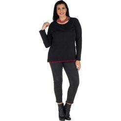 T-shirty damskie: Koszulka w kolorze czarno-czerwonym