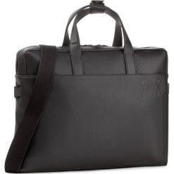 Torba na laptopa CALVIN KLEIN - Hi-Profile slim Laptop K50K503443 001. Czarne plecaki męskie Calvin Klein, ze skóry ekologicznej. W wyprzedaży za 459,00 zł.