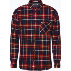 Tommy Jeans - Koszula męska, niebieski. Niebieskie koszule męskie jeansowe marki Tommy Jeans, l, z dekoltem karo. Za 359,95 zł.